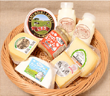 くしろの乳製品詰め合わせの特産品画像