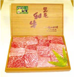 北海道産 美幌和牛バラ・モモ(焼肉用)1Kg箱詰の特産品画像