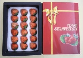 桃のような香りのいちご「桃薫(とうくん)」&「かおり野」セットの特産品画像
