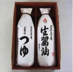 東和の佐々長醸造つゆ生醤油セットの特産品画像