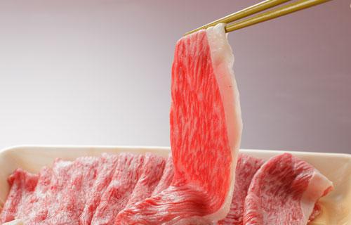 秋田牛すきしゃぶ肉の特産品画像