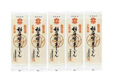 稲庭宝来うどんT-05 2人前×5袋の特産品画像