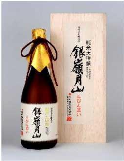 銀嶺月山 純米大吟醸 斗瓶囲い 720mlの特産品画像