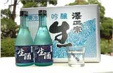 澤正宗 吟醸生酒 300ml×12本セットの特産品画像