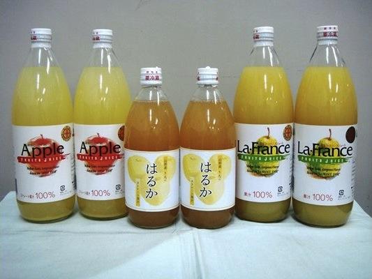 ラ・フランス&りんごジュースセット2ndの特産品画像