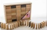 手づくり木のドミノの特産品画像