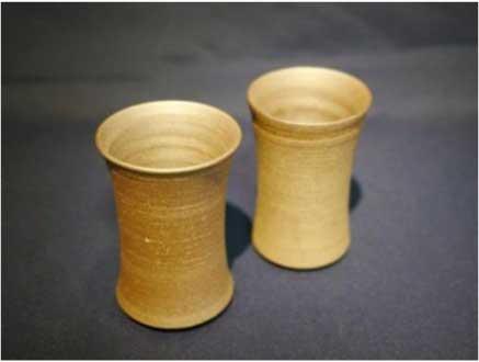 会津本郷焼 ビアグラスペアセットの特産品画像