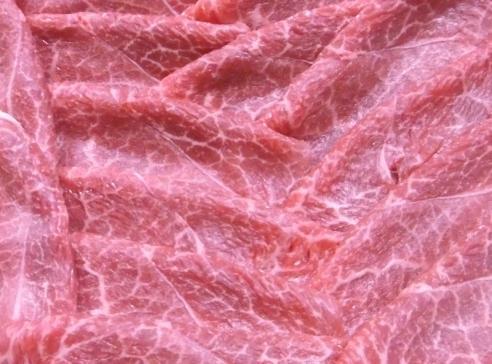 島田牧場の常陸牛 赤身スキヤキ600gの特産品画像