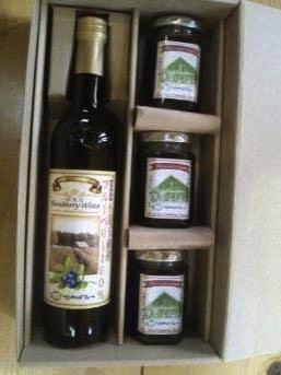 小美玉ブルーベリーワイン&ブルーベリージャムの特産品画像