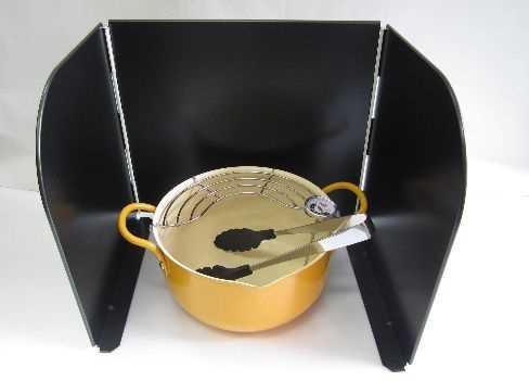 【サミ】天ぷら鍋3点セットの特産品画像