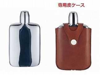 【三宝】ウイスキーボトル(革ケース付)の特産品画像