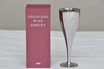 【三宝】ステンレスワイングラスの特産品画像