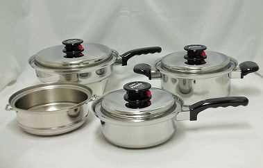 【霜龍】ピクナル多層鋼鍋4点セットの特産品画像