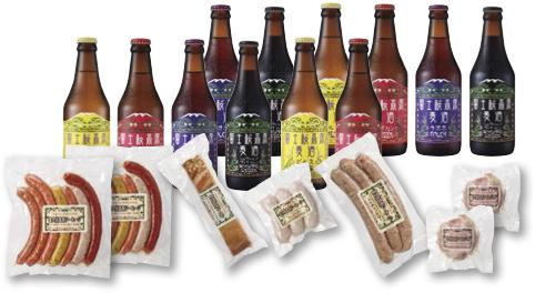富士桜高原麦酒超大盛12本セットの特産品画像