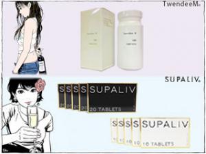 【TwendeeM】ボトルサイズ&【SUPALIV】白箱&黒箱付き!の特産品画像