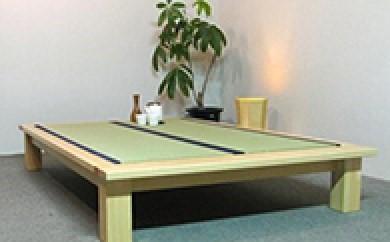 【島田の逸品】HATAGO(桧製 畳ベッド) ダブルの特産品画像
