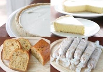 """""""ベイクドだけどレア""""なチーズケーキと焼き菓子特別セットの特産品画像"""