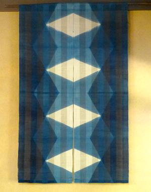 手織り麻のれんの特産品画像