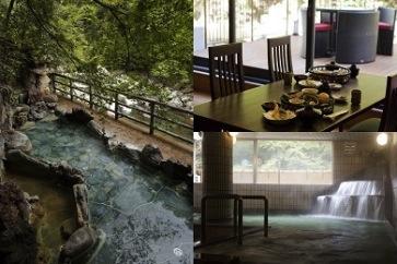 摂津峡 「花の里温泉 山水館」日帰り温泉入浴とランチ招待券の特産品画像