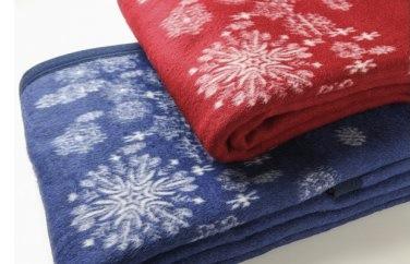 泉州南部織 ラムウール毛布2枚セットの特産品画像