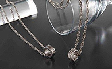 純チタン「磁気ネックレス喜平チェーン」の特産品画像