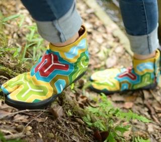 倭紋-わもん-地下足袋 亀甲(キッコウ)の特産品画像