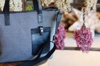 松右衛門帆 鞄(革トートL)の特産品画像
