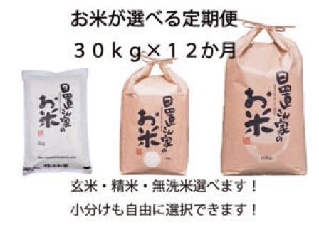 プレミアム(定期便) 日置さん家のお米 選べる30kg×12か月定期便の特産品画像