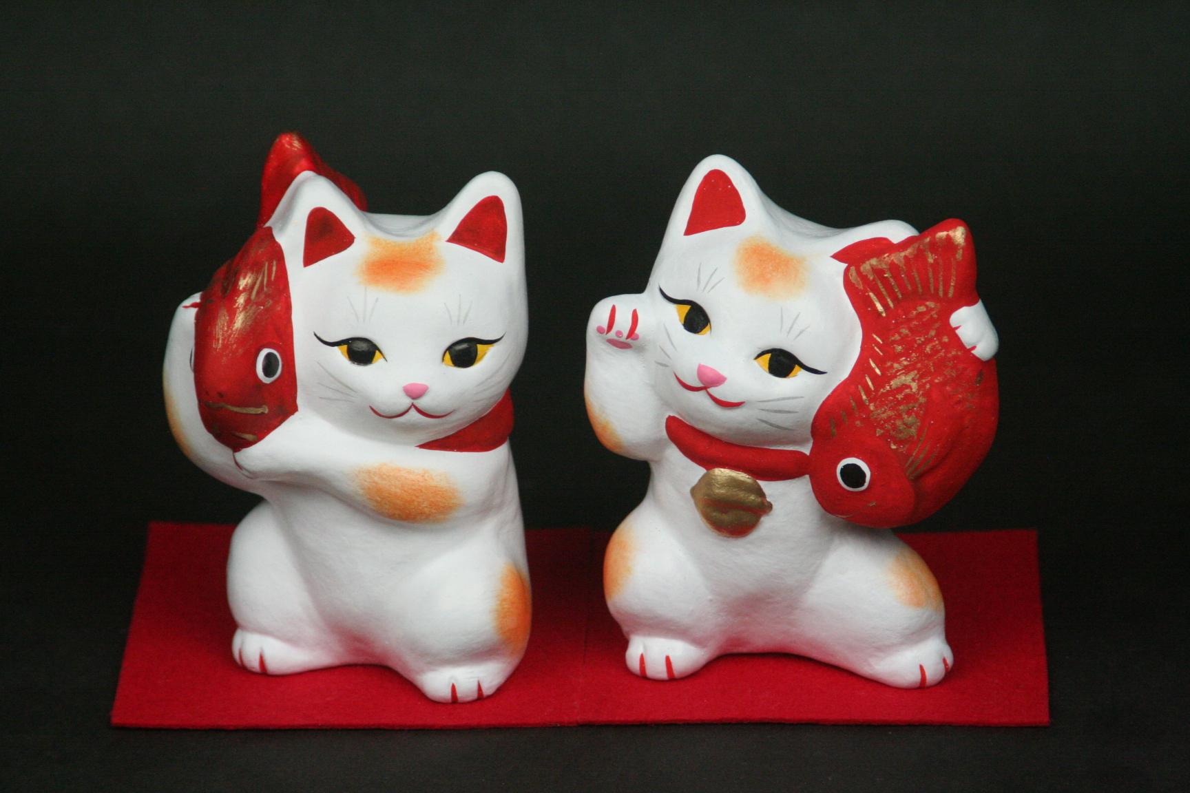 招き猫セットの特産品画像