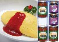 トマトケチャップとブルーベリージャムの詰合せの特産品画像