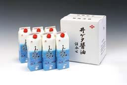 井ゲタ醤油『しじみ醤油』6本セットの特産品画像