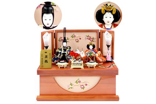 ひな人形 都親王収納飾りセットの特産品画像