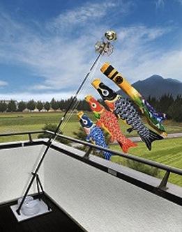 プレミアムスタンドセット 手描本染 福寿 1.5mの特産品画像