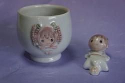 ふじっこちゃん湯飲み&箸置きセットの特産品画像