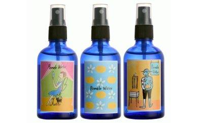 ポメロウォーター(柑橘の花の化粧水)3本セットの特産品画像