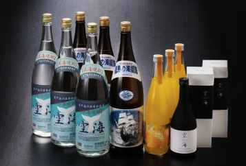 土佐焼酎、リキュール宴会セットの特産品画像