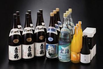 土佐の地酒 大宴会セットの特産品画像