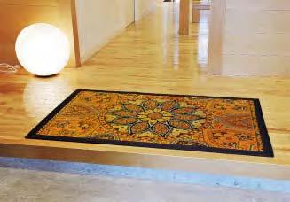 い草玄関マット「万華鏡」(95×150cm)の特産品画像