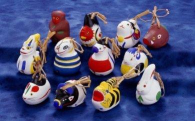 のごみ人形 干支セットの特産品画像