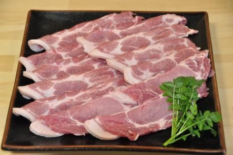 梅酢黒豚 肩ロース 生姜焼き用の特産品画像