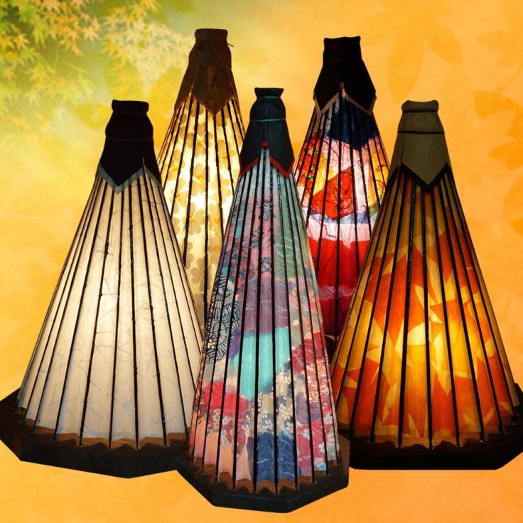伝統の和傘あんどん(中)の特産品画像