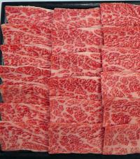 黒毛和牛カルビ焼肉用の特産品画像