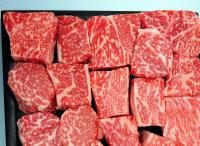 黒毛和牛赤身サイコロステーキの特産品画像